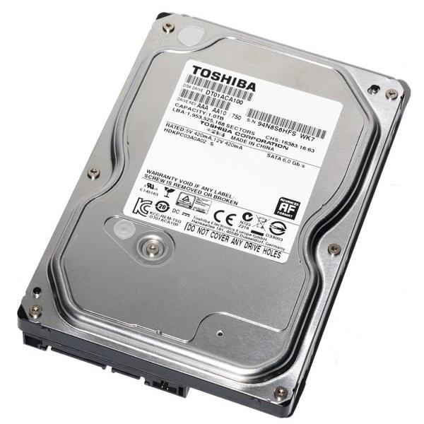 "Toshiba 1 TB 3,5"" SATA 3 32MB Harddisk(DT01ACA100)"