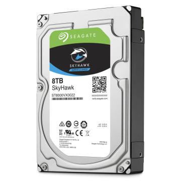 """SEAGATE 3.5"""" SKYHAWK 8TB 7200 RPM 256MB SATA3 PC HDD ST8000VX0022 (SV35 7/24 Çalışma)"""