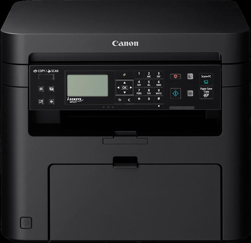 Canon MF231 Fotokopi + Tarayıcı + Lazer Yazıcı