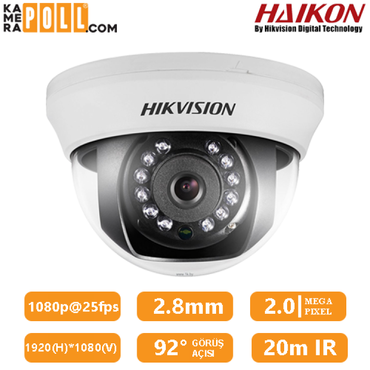 HAIKON DS-2CE56C0T-IRMM 2.8MM 720P 1MP