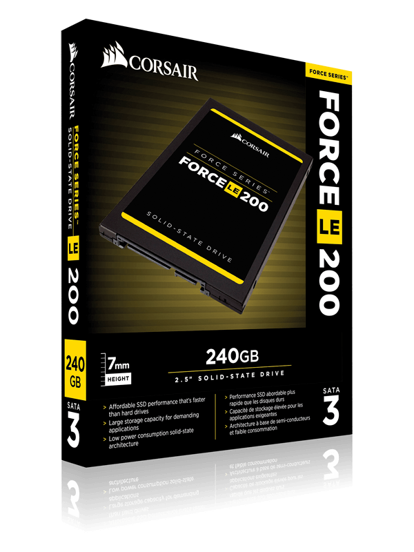 CORSAIR 240GB FORCE LE SERISI 550/500M SSD