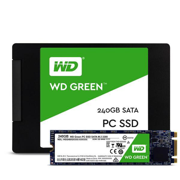 WD 240GB SATA Green M.2 SSD WDS240G1G0B HARDDİSK