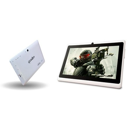 """QUADRO SoftTouch 6 A33 1.33ghz 8GB Wi-Fi & Bluetooth Android 7"""" Dual Cam Beyaz Tablet Pc"""