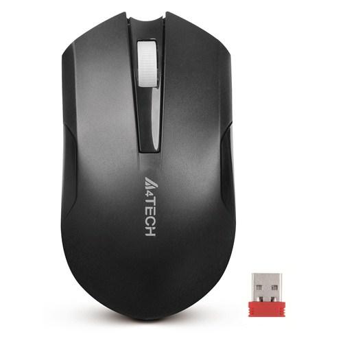 A4 Tech G3-200N V-Track Siyah Kablosuz Mouse