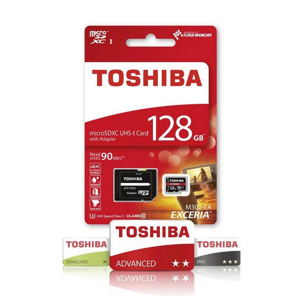 TOSHIBA 128GB MICRO SD CLASS10 90MB (THN-M302R1280EA)