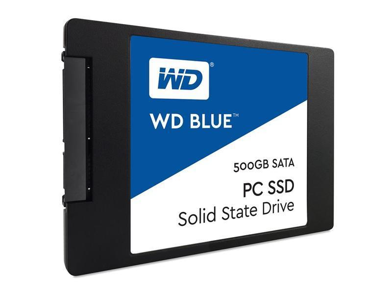 """500GB WD BLUE SSD 2.5"""" 7mm 545/525MBs WDS500G1B0A"""