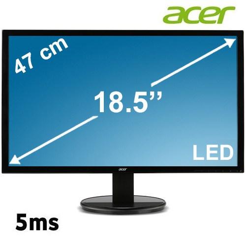 "ACER K192HQLB 18.5"" 5ms VGA (Analog) Led Monitör"