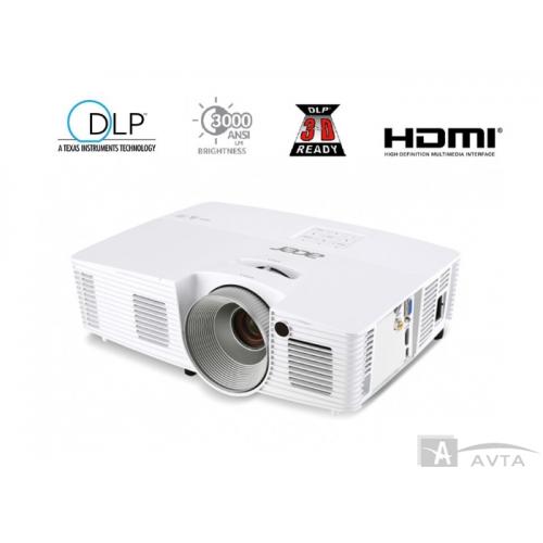 Acer X115H DLP SVGA 800 x 600 3300AL HDMI 3D 20000