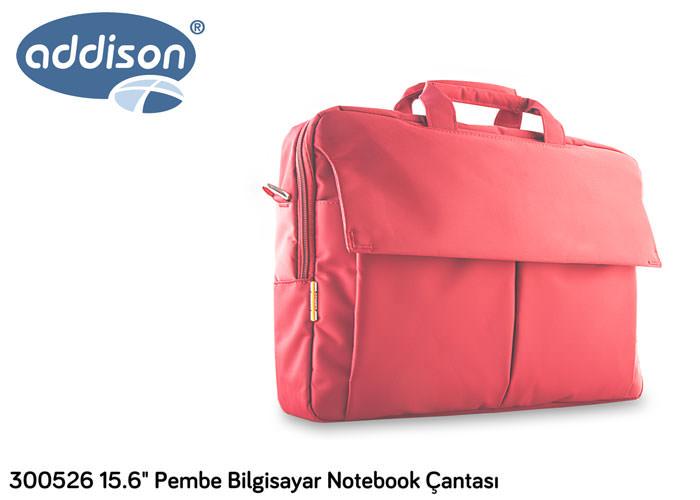 ADDISON 300526 15.6 Pembe Bilgisayar Notebook Çantası