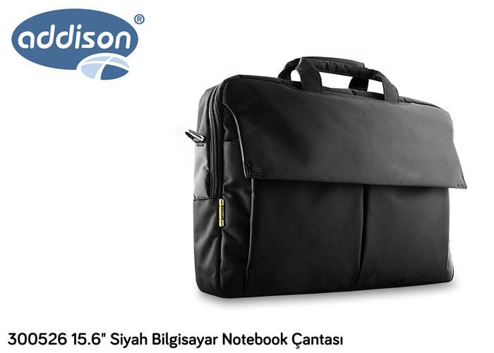 ADDISON 300526 15.6 Siyah Bilgisayar Notebook Çantası