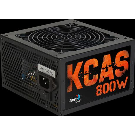 AEROCOOL KCAS 800W 12cm Fan 80+Bronze Güç Kaynağı (AE-KCAS800) POWER  SUPPLY