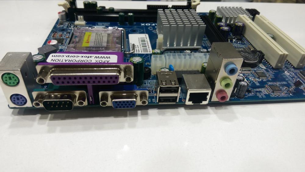 AFOX IG41-MA2 Intel LGA775 G41 DDR3+DDR2 MicroATX Anakart