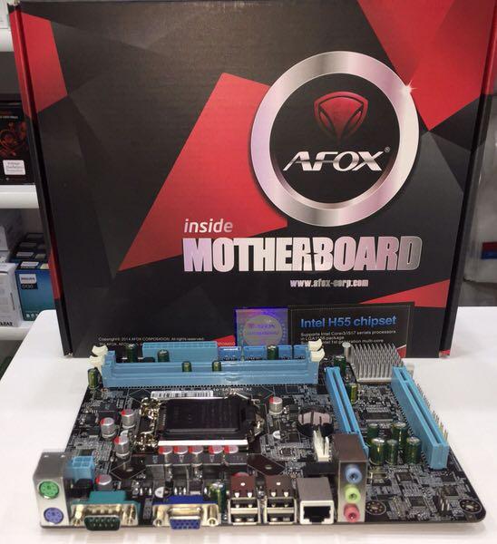 AFOX IH55-MA Intel LGA1156 H55 DDR3 MicroATX Anakart