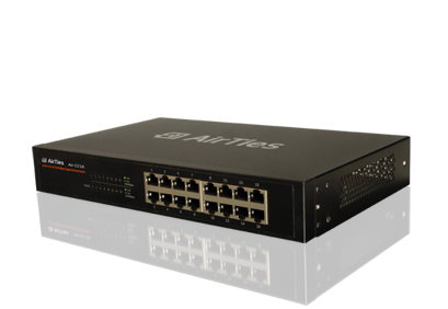 AIRTIES AIR 216 GIGABIT 16 PORT SWITCH