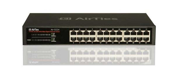 AIRTIES AIR 224 GIGABIT 24 PORT SWITCH