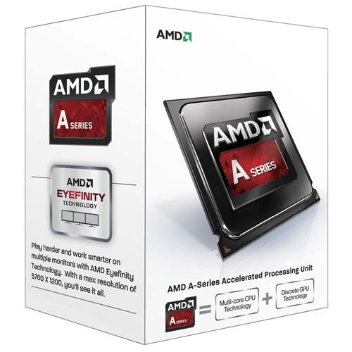 AMD A4 4020 X2 3.2/3.4 GHz 1MB FM2 HD 7480D VGA 65W