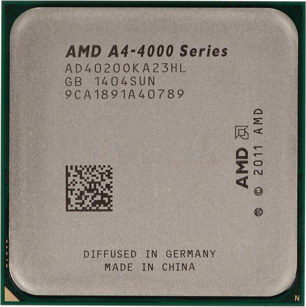 AMD A4 4020 X2 3.2/3.4 GHz 1MB FM2 HD 7480D VGA 65W
