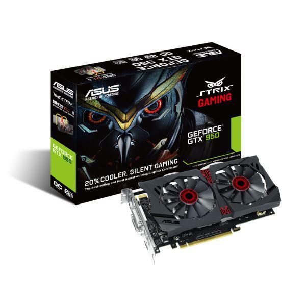 ASUS 2GB GTX950 GDDR5 128BIT HDM DC2OC-2GD5
