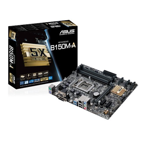 ASUS B150M-A Intel B150 2133MHz DDR4 Soket 1151 Micro-ATX