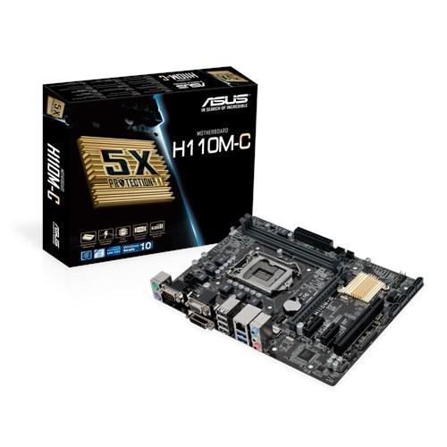 ASUS H110M-C Intel H110 2133MHz DDR4 Soket 1151 uATX Anakart