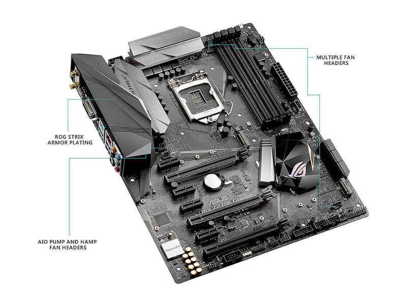 ASUS INTEL ROG STRIX Z270E GAMING DDR4 3866MHZ 1151P Anakart