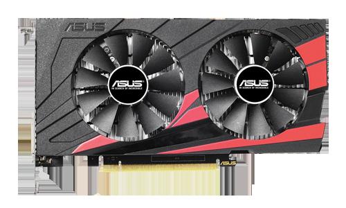 ASUS Nvidia 2GB GTX1050 GDDR5 128 Bit EX-GTX1050-O2G HDMI DVI-D DP