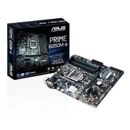 ASUS PRIME B250M-A DDR4 2400 VGA GLN 1151P M.2 4x DDR4 ANAKART