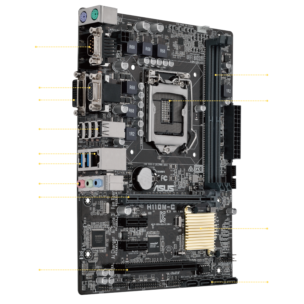 ASUS PRIME B250M-K Intel B250 2400MHz DDR4 Soket LGA1151 ANAKART