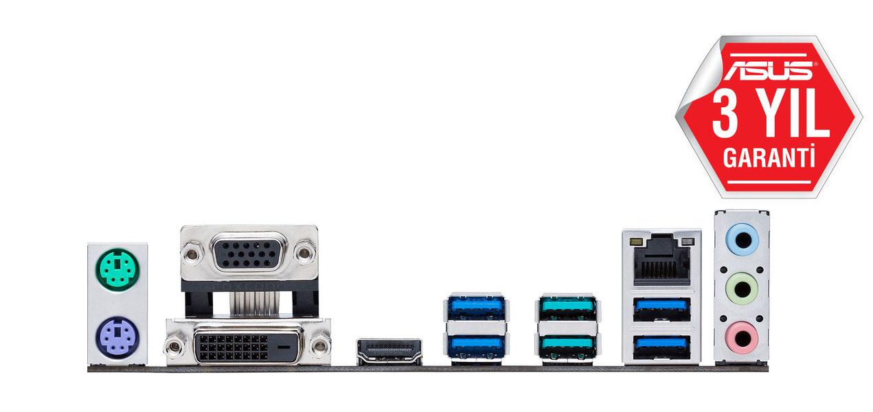 ASUS PRIME B350M-A Amd B350 3200+MHz DDR4 Soket AM4 uATX Anakart