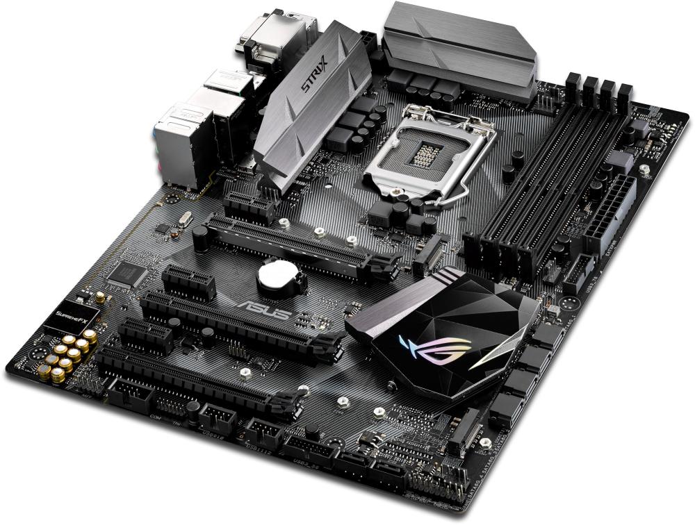 ASUS ROG STRIX Z270H GAMING Intel Z270 Soket 1151 DDR4 3866MHz(OC)USB3.1 Anakart