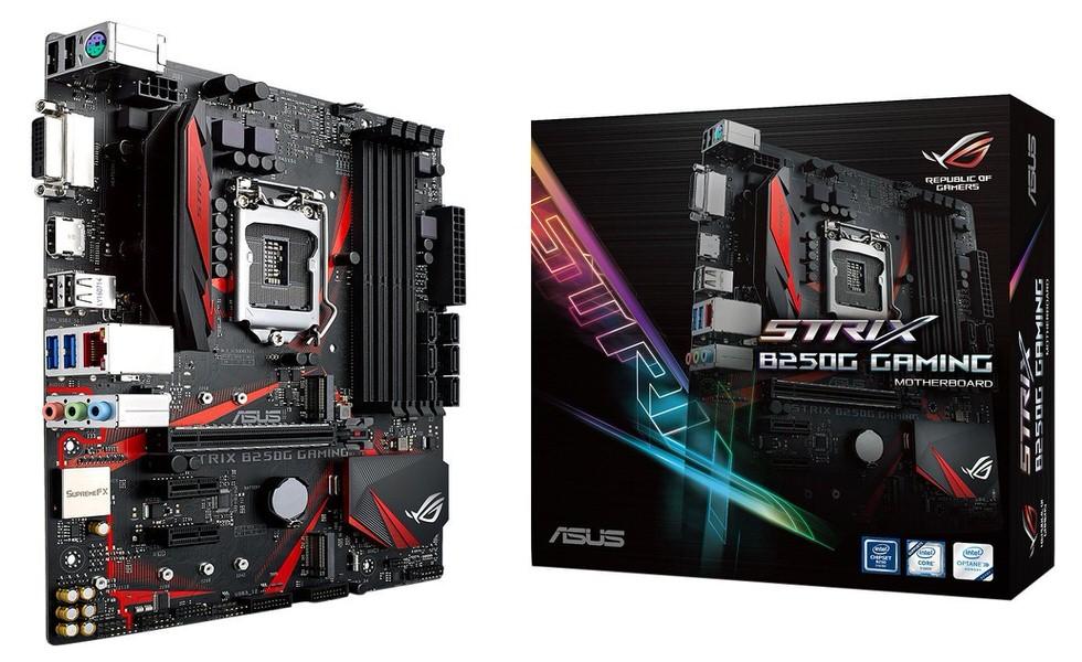 ASUS STRIX B250G GAMING DDR4 S+V+GL 1151P