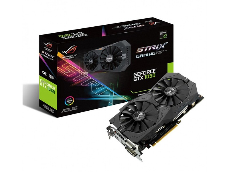 ASUS STRIX-GTX1050-O2G-GAMING - GeForce GTX 1050 2GB Ekran Kartı