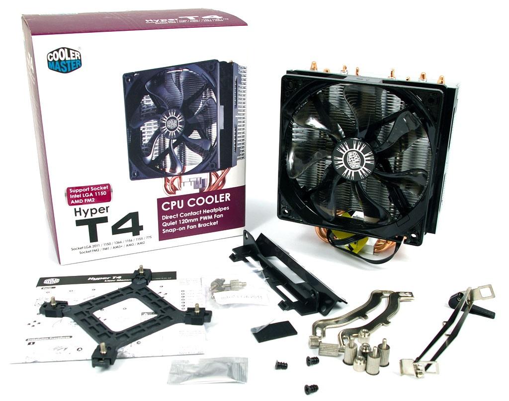 COOLER MASTER Hyper T4 (RR-T4-18PK-R1) Intel / AMD Uyumlu İşlemci .