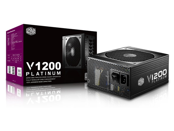 COOLER MASTER Vanguard 1200W 80+ Platinium Full Modüler 135mm Fanlı PSU RSC00-AFBAG1-EU power
