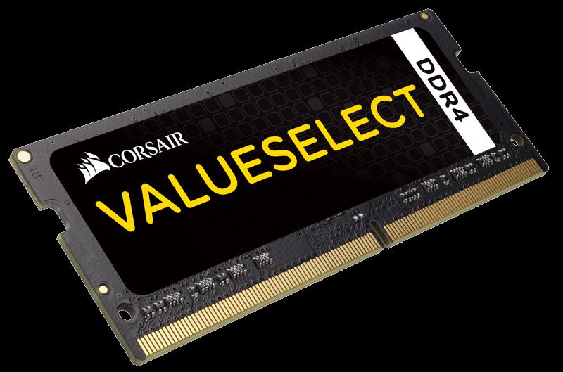 CORSAIR 4GB 2133MHZ DDR4 CL15 1.2v CMSO4GX4M1A2133C15 Notebook RAM