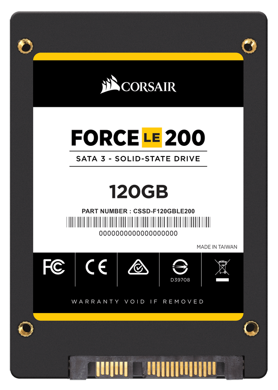CORSAIR Force LE200 120GB 550-500MB/s SSD (CSSD-F120GBLE200)