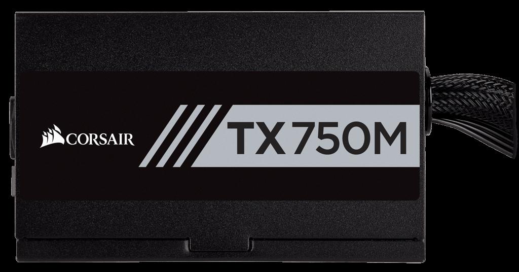 Corsair TX750M 750W CP-9020131-EU Psu 80+ Gold / 14cm Fan