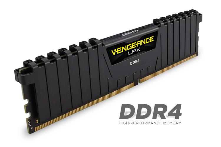 CORSAIR Vengeance LPX Siyah 8GB 2400Mhz DDR4 CL14 Pc Ram CMK8GX4M1A2400C14