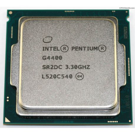 INTEL PENTIUM G4400 3.30GHZ 3MB 1151P TREY  FANSIZ