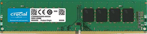 CRUCIAL 4GB 288-Pin DDR4 SDRAM DDR4 2133 (PC4 17000