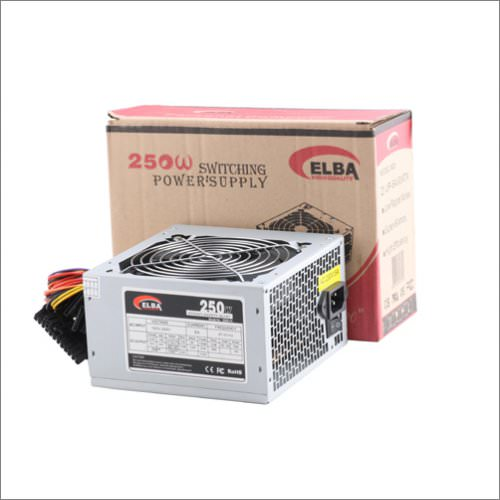 ELBA 250W PSU 12CM SİYAH FAN POWER SUPPLY