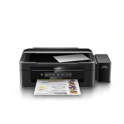 EPSON L386 Tanklı A4,4 Renkli Yazıcı,Tarayıcı,Fotokopi, Wi-Fi - C11CF44401