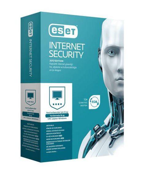 ESET 8697690850675 Internet Security v10, 1 Kullanıcı, 1 Yıl, Kutu