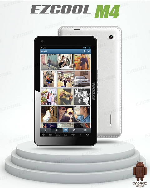 "EZCOOL M4 8GB 7"" Beyaz Tablet"