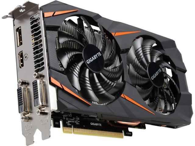 Gigabyte WINDFORCE Nvidia GeForce GTX 1060 6GB OC 192Bit GDDR5 (DX12) PCI-E 3.0 Ekran KartI