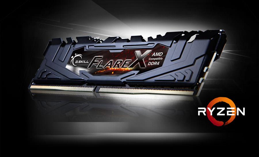 GSKILL Flare X 32GB (2x16GB) 2400Mhz DDR4 CL15 Pc Ram F4-2400C15D-32GFX (AMD Ryzen Uyumlu) 1.2V
