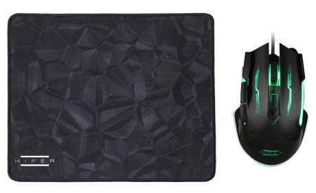 HIPER BLACK WIDOW X20 GAMING M+PAD(3200DPI)