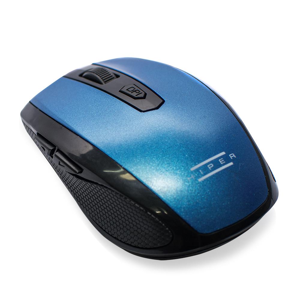 HIPER MX-570M 6 Tuşlu Nano Kablosuz Mouse blue&black