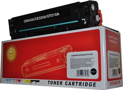 HP 125A Original Black Toner Cartridge (CB540A)