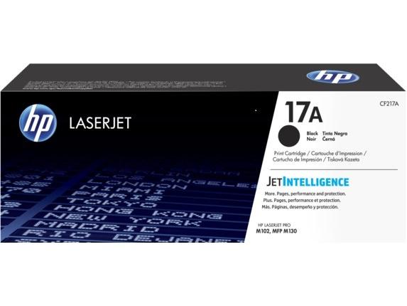 HP 17A Siyah Orijinal LaserJet Toner Kartuşu (CF217A)